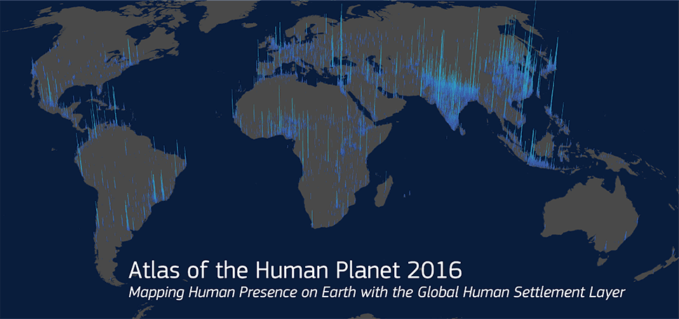 Cover for the Atlas of the Human Planet 2016
