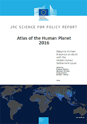 Front cover of the Atlas of the Human Planet 2016